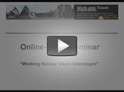Working Holiday Visum beantragen Video-Kurs