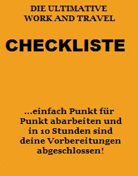 Die ultimative Work and Travel Checkliste